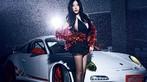 Mát mắt cùng người mẫu diện váy xẻ ngực sâu gợi cảm bên siêu xe Porsche 911 GT3 RS - 3