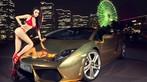 "Người mẫu diện bikini đỏ gợi cảm bên siêu xe Lamborghini Gallardo LP560-4 ""Kim Ngưu"" - 3"