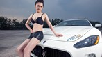 Rửa mắt cuối tuần với người đẹp nuột nà bên chiếc Maserati GranTurismo S - 2