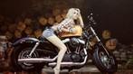 Cô nàng lả lơi bên Harley-Davidson - 3