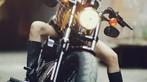 Cô nàng lả lơi bên Harley-Davidson - 1