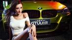Người đẹp Y Ngạn khoe dáng gợi cảm, rửa xe mát mẻ bên BMW 3-Series F35 - 3