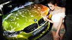 Người đẹp Y Ngạn khoe dáng gợi cảm, rửa xe mát mẻ bên BMW 3-Series F35 - 11