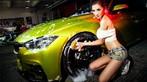 Người đẹp Y Ngạn khoe dáng gợi cảm, rửa xe mát mẻ bên BMW 3-Series F35 - 14