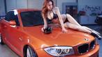 Nóng người với hình ảnh Lưu Tịnh Di diện bikini, khoe thân thể nuột nà bên BMW 1M - 5