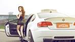Mỹ nhân diện váy da báo gợi cảm bên BMW M3 độ - 2