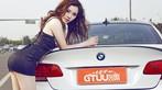 Mỹ nhân diện váy da báo gợi cảm bên BMW M3 độ - 3