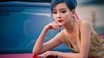 Ngắm hot girl A Chước tạo dáng thiết tha, xinh như tiên nữ bên Volkswagen Beetle - 8