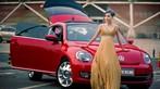 Ngắm hot girl A Chước tạo dáng thiết tha, xinh như tiên nữ bên Volkswagen Beetle - 10