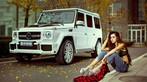 """Chân dài nóng bỏng thả dáng bên Mercedes-Benz G63 AMG """"Bạch Tuyết"""" - 5"""