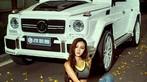 """Chân dài nóng bỏng thả dáng bên Mercedes-Benz G63 AMG """"Bạch Tuyết"""" - 1"""