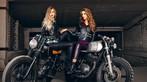 Hai cô nàng cá tính bên Yamaha SR400 và Yamaha XS400 độ - 6