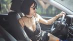 """Người đẹp Việt """"nửa kín nửa hở"""" với đồ ren bên trong Hyundai Kona - 3"""