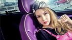 Người đẹp gốc Hoa thả dáng cá tính, trẻ trung bên chiếc Mini độ màu tím chất lừ - 8