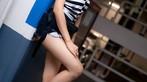 Thơ thẩn trước người đẹp Thái Lan có khuôn mặt đáng yêu, làn da trắng bóc trong bãi đỗ xe - 9