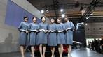 Thỏa mắt nhìn ngắm các người mẫu Nhật Bản xinh đẹp ở Osaka Auto Messe 2019 - 7