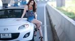 Tim đập loạn nhịp trước người đẹp Thái Lan bên Mazda mui trần - 14