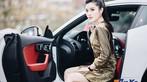 Á hậu Huyền My khoe dáng nuột bên Jaguar F-Type mới sắm - 9