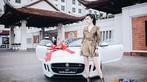 Á hậu Huyền My khoe dáng nuột bên Jaguar F-Type mới sắm - 3