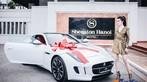 Á hậu Huyền My khoe dáng nuột bên Jaguar F-Type mới sắm - 1