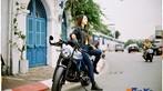 Thiếu nữ Việt khoe vẻ cổ điển cùng Ducati Scrambler Cafe Racer qua nước ảnh film - 2