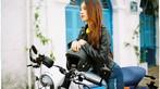 Thiếu nữ Việt khoe vẻ cổ điển cùng Ducati Scrambler Cafe Racer qua nước ảnh film - 11