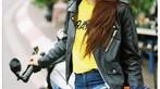 Thiếu nữ Việt khoe vẻ cổ điển cùng Ducati Scrambler Cafe Racer qua nước ảnh film - 4