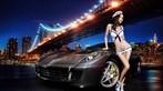 Đêm lãng mạn giữa người đẹp bốc lửa Y Ngạn và Ferrari 599 - 1