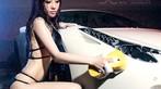"""Người đẹp mặc bikini cùng """"ướt át"""" bên siêu xe Ferrari 458 - 7"""