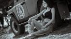 """Mỹ nhân khoe thân thể khỏe khoắn, vòng 1 căng đầy cùng xe """"Jeep Trung Quốc"""" - 13"""