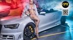Chân dài khoe thân hình đẫy đà bên Audi A5 mui trần - 9