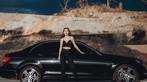 Thiên thần áo đen khoe dáng bên Mercedes-Benz - 7