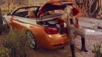 """Linh Remy khoe vẻ đẹp cá tính và cực """"Tây"""" bên chiếc BMW mui trần - 3"""
