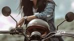 Á khôi The Face 2017 Đồng Ánh Quỳnh khoe vẻ đẹp cá tính, lạnh lùng bên Yamaha XSR - 18
