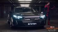 Hài hước cảnh Người Nhện mượn Audi e-tron GT để mang đi thi khoa học ở trường