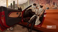 """Linh Remy khoe vẻ đẹp cá tính và cực """"Tây"""" bên chiếc BMW mui trần"""