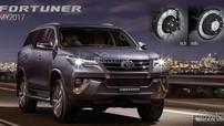 Toyota Fortuner 2017 với loạt tính năng cập nhật mới ra mắt thị trường Thái Lan