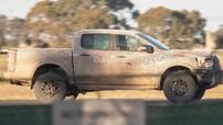 Ford Ranger Raptor 2019 lăn bánh trên đường thử