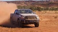 Xem Ford Ranger Raptor 2018 thử sức mạnh