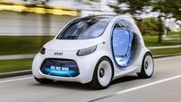 Smart đã phát triển mẫu xe tự lái cho thuê