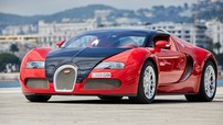 Lóa mắt trước Bugatti Veyron Grand Sport trong bộ cánh đỏ rực