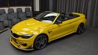 BMW M4 thêm bộ cánh Speed Yellow nổi bật tại Abu Dhabi