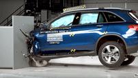 Mercedes-Benz GLC 2017 dẫn đầu về độ an toàn sau thử nghiệm của IIHS