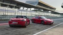 Bộ đôi Porsche 718 và Cayman GTS 2018 cải tiến động cơ lên đến 360 mã lực