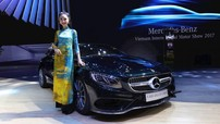 VIMS 2017: Tà áo dài Việt Nam đứng cạnh dàn xe tiền tỷ của Mercedes-Benz
