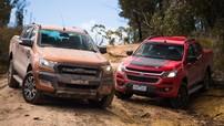 So sánh xe Chevrolet Colorado 2017 và Ford Ranger 2017: Nội chiến xe bán tải Mỹ