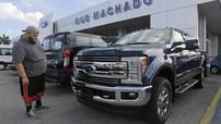 Doanh số Ford tháng 10 tăng vọt, Fiat Chrysler, GM báo cáo giảm