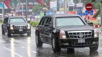 Bộ đôi Cadillac The Beast hộ tống Tổng thống Trump dự APEC 2017