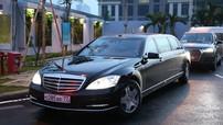 """""""Lộ diện"""" Mercedes Maybach S-600 Pullman đưa đón Tổng Thống Putin tại Đà Nẵng"""