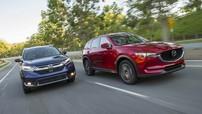 Gay cấn cuộc đua giành thị phần của Mazda CX-5 và Honda CR-V